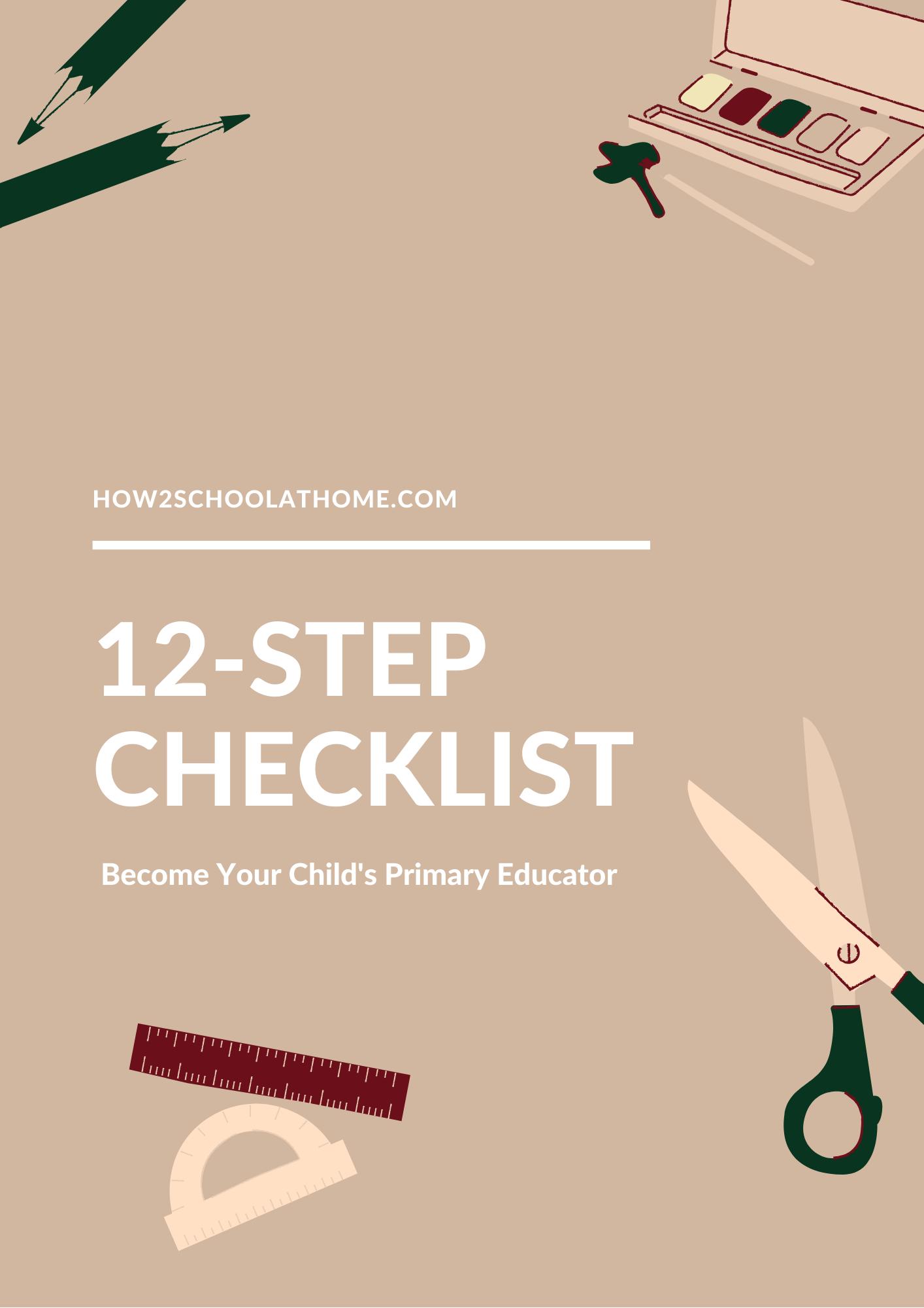 12 step checklist
